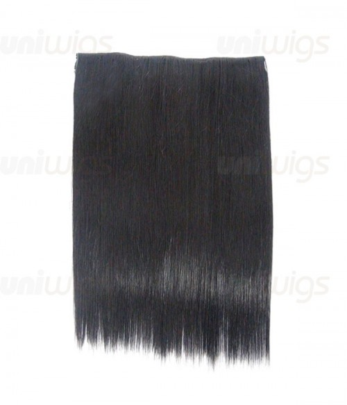 "20"" Straight Synthetic Flip In Hair Extension E52001-Y-1"