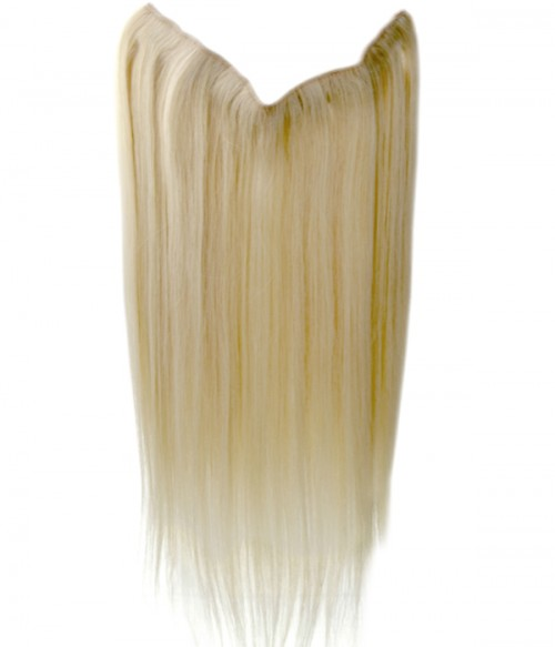 "22"" Straight Remy Human Hair Flip In Hair Extension"