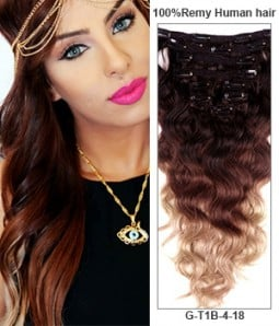 Clip in hair extensions best hair extensions clip in uniwigs 20 triple ombre color 9 pieces body wave clip in indian remy human hair extension pmusecretfo Choice Image