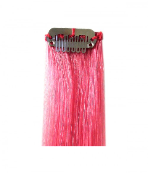 """18"""" Colorful Virgin Remy Human Hair Single Clip In Extension"""