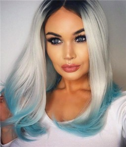 Fatin Synthetic Lace Front Wig