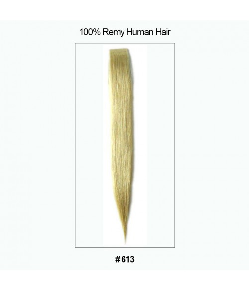 """16"""" Virgin Remy Human Hair 20 Pieces Set Tape Hair Extension"""