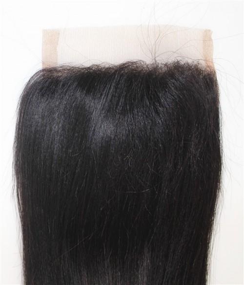 """Junie 6""""x6"""" Remy Human Hair Lace Closure"""