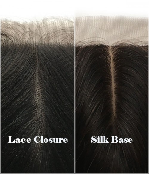 "4""x4"" Straight Brazilian Remy Human Hair Silk Top Lace Closure"