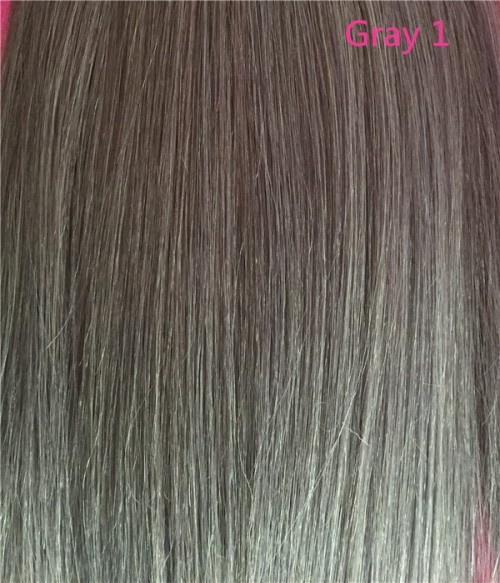 Color Chart For Gray Human Hair