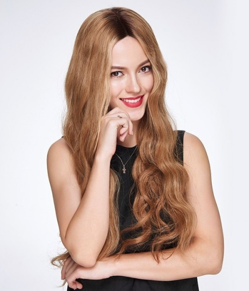 Beyonce Wave Remy Human Hair Lace Wig CL0496