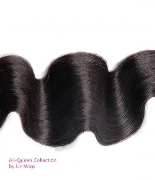 Virgin Remy Human Hair Body Wave Weft Ali Queen Collection by UniWigs