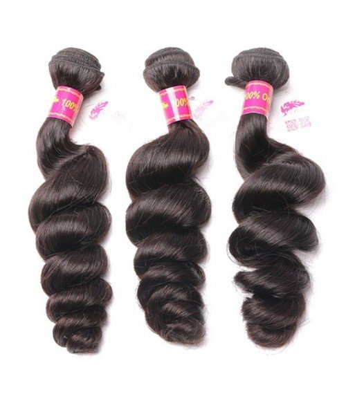 Virgin Remy Human Hair Loose Wave Weft Ali Queen Collection by UniWigs