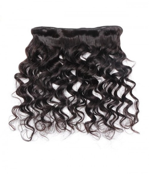 Loose Wave Virgin Remy Human Hair 3 Bundles With Closure