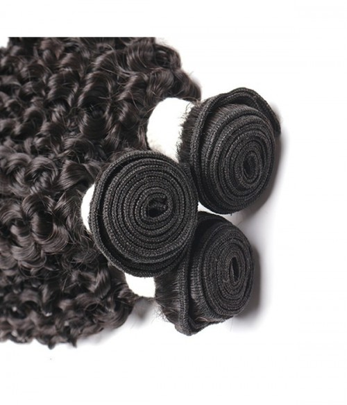 Virgin Remy Human Hair Kinky Curly Weft
