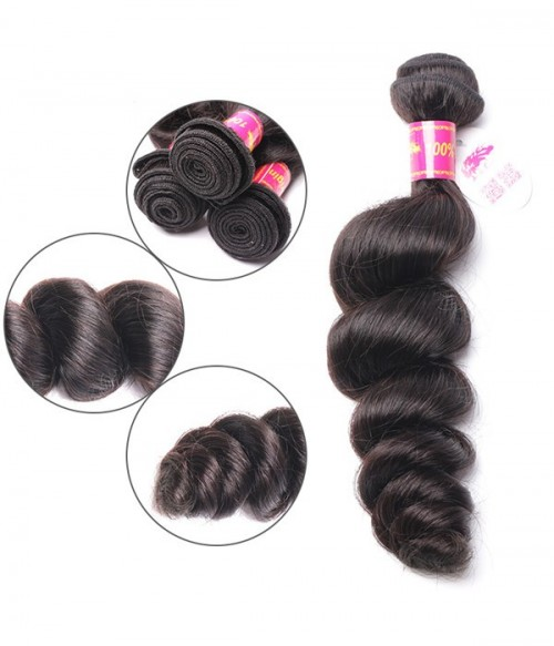 Virgin Remy Human Hair Loose Wave Weft