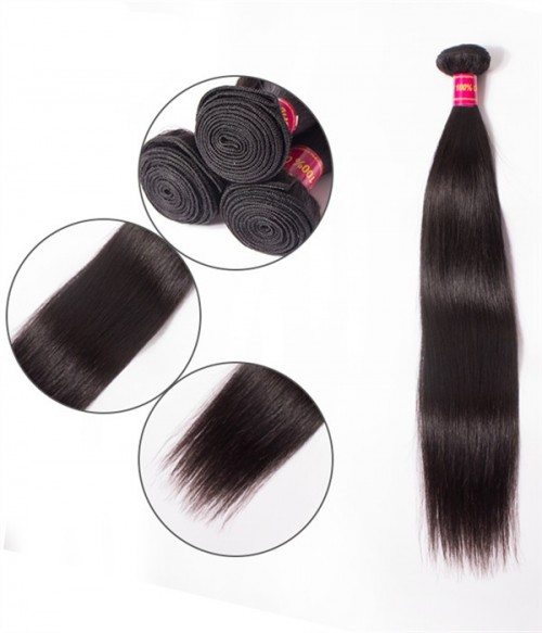 Virgin Remy Human Hair Straight Weft