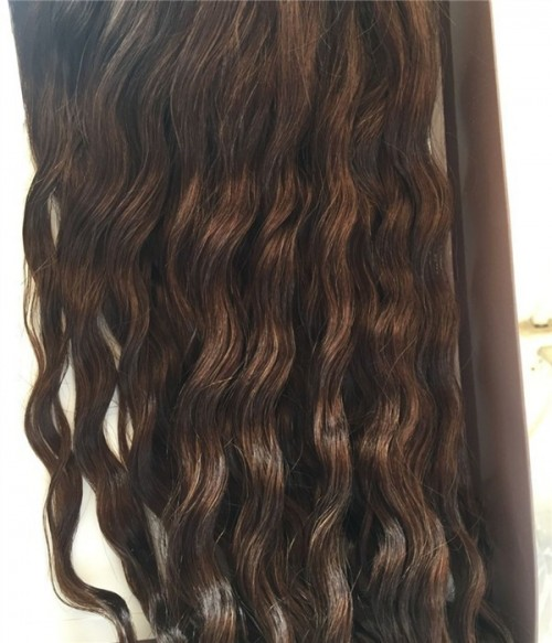 "Upgrade Claire Wave Remy Human Hair Topper - 6""×6"""