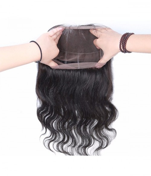 Body Wave Virgin Hair 360 Lace Frontal