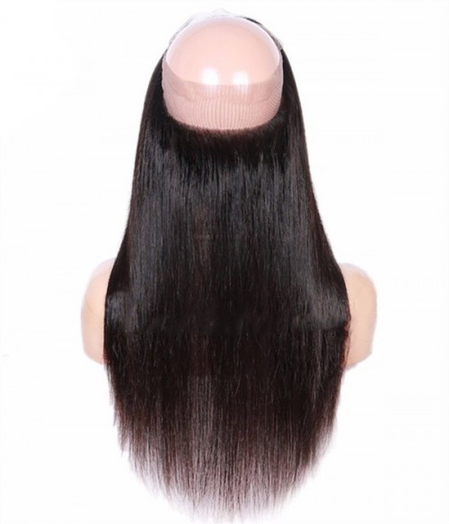 Straight Virgin Hair 360 Lace Frontal