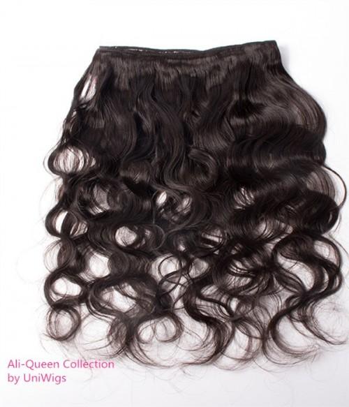 Unprocessed Body Wave 6A Peruvian Virgin Human Hair Weave