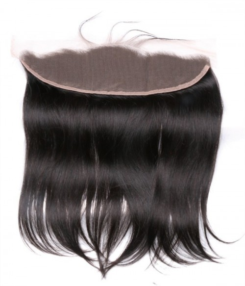 Brazilian 13x4 Straight Lace Frontal Closure With Baby Hair