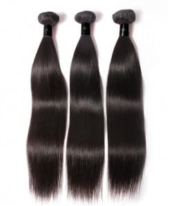 3 Bundles Straight Remy Hair Weave