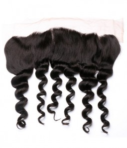 Brazilian 13x4 Loose Wave Lace Frontal Closure With Baby Hair