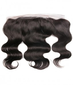 Brazilian 13x4 Body Wave Lace Frontal Closure With Baby Hair