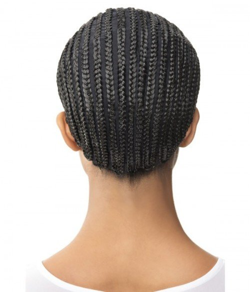 Cornrow Express Braid Cap With Combs