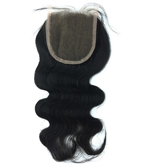"8-20"" 4""x4"" Body Wave Free Part/Middle Part Brazilian Remy Human Hair Lace  Closure"