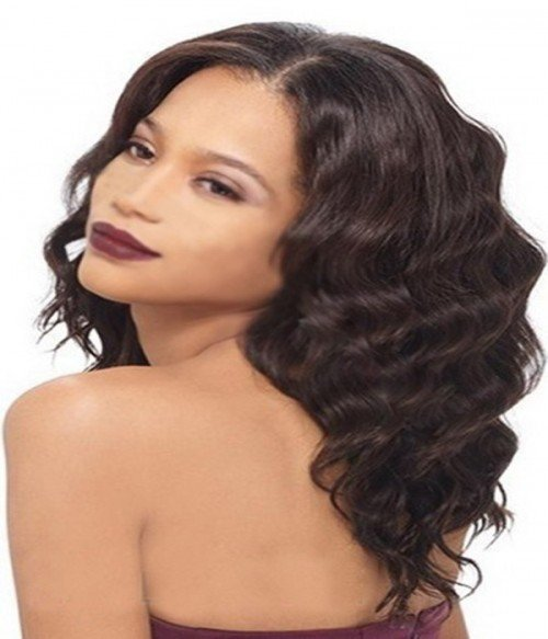 "8-20"" 3.5""x4"" Body Wave Free Part/Middle Part Brazilian Remy Human Hair Lace  Closure"