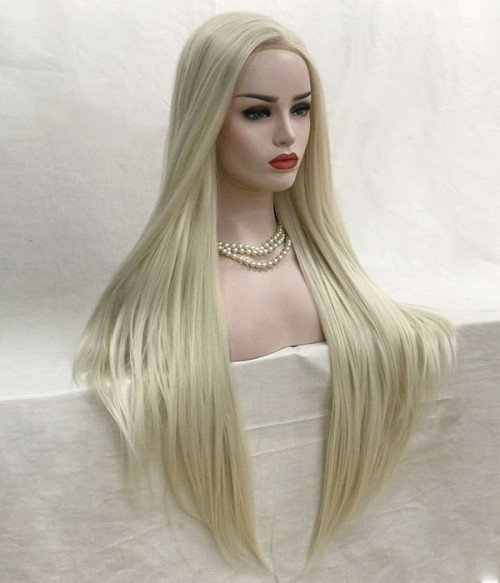 Becky Synthetic Lace Front Wig-Straight Version