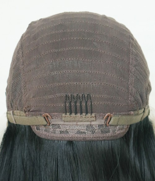 Weft back and lace front