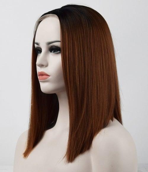Tonya Synthetic Lace Front Wig-Hot Mocha Latte