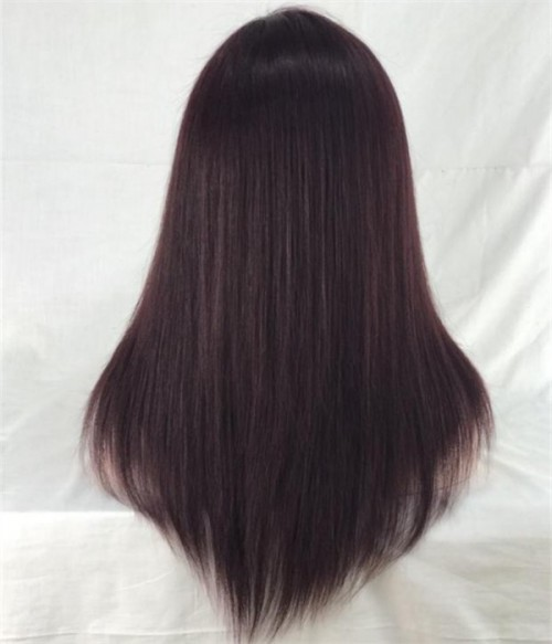 Ombre Burgundy Full Lace Wig