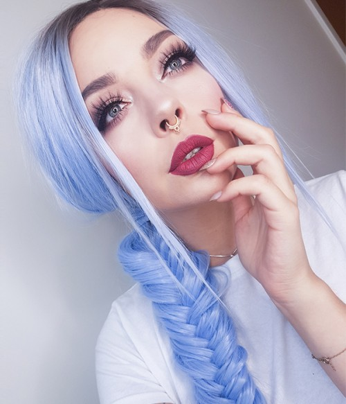 Macarons Synthetic Lace Front Wig