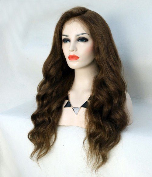 Natural Wave Remy Human Hair Lace Wig