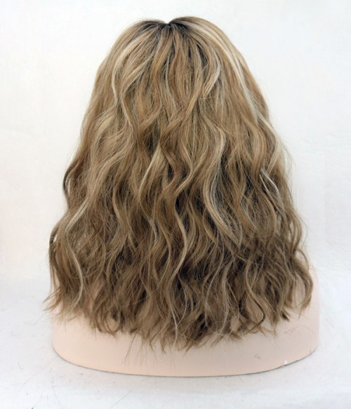 "Caitlin Fitzgerald 12""  Indian Remy Human Hair Ombre Color Full Lace Wig"
