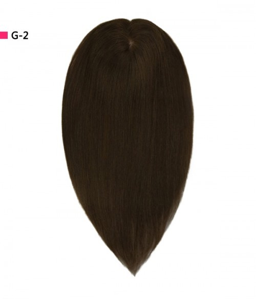 """6""""×6"""" Upgrade Virgin Remy Human Hair Toppe 16"""" 7 Pieces Straight Clip In Remy Human Hair Extensions"""