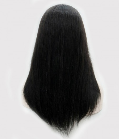 "10""*10""  Hera Virgin Remy Human Hair 3/4 cap wig"