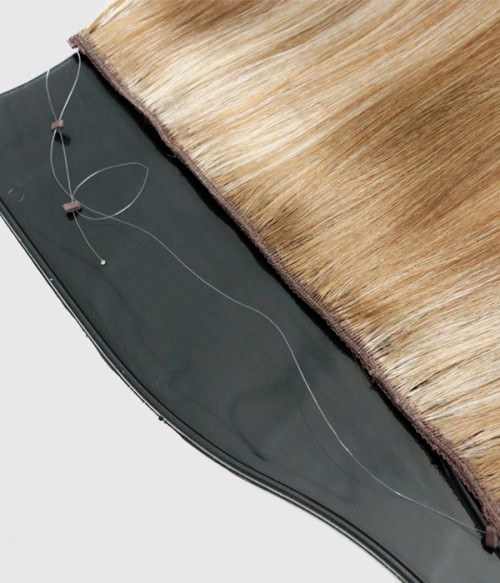 A transparent flexible wire -comfortable for sensitive scalp