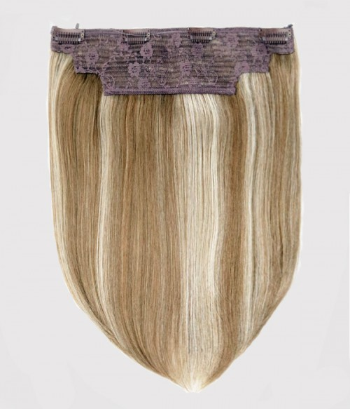 01(Almond Frost)| Golden Blonde highlighted with Ash Blonde