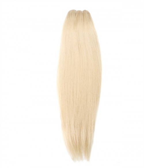 3 Pieces Straight 613 Blonde Virgin Hair Weave