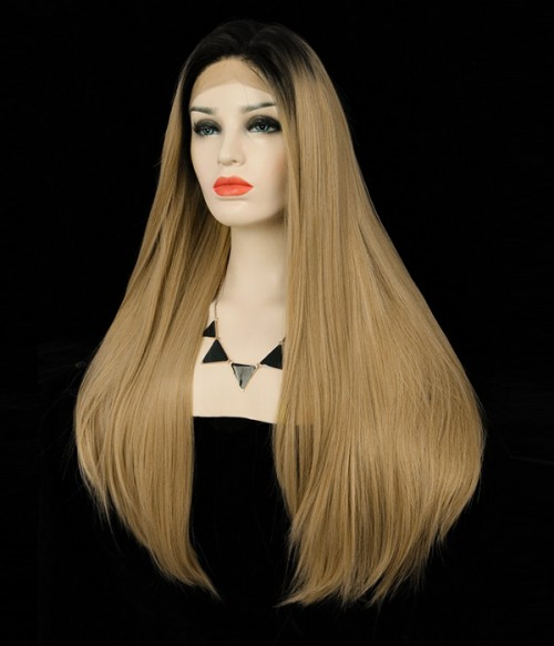 Sunshine Synthetic Lace Front Wig