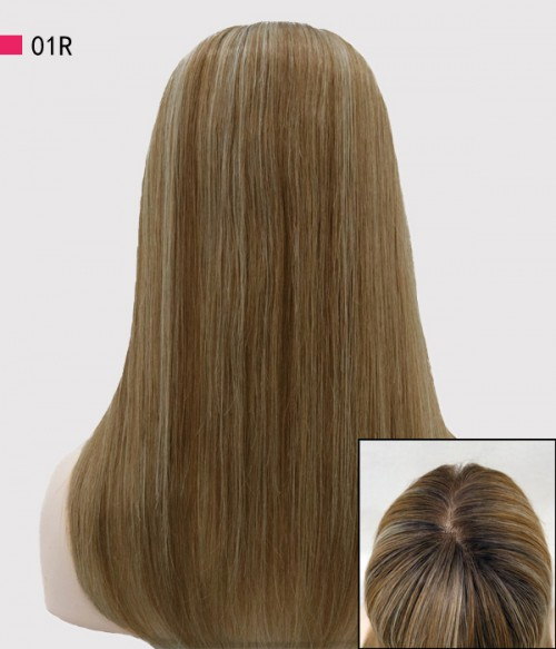 Clara Remy Human Hair Top Hairpiece