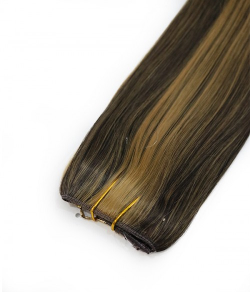 "16"" Straight Synthetic Piano Color Miracle Wire Uni-Hair Extension E51007-Y-25"
