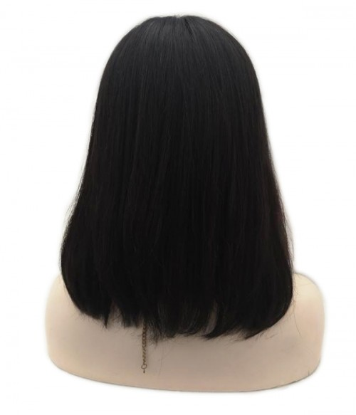 Cara -Remy Human Hair Lace Wig - Natural Black