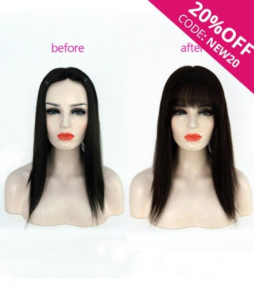 Instant Clip-in Bangs