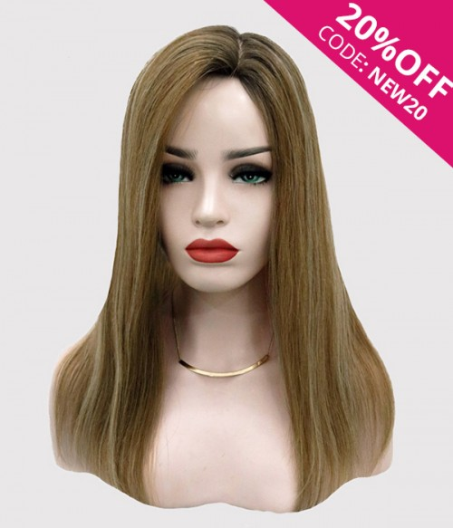 "6""*7"" Bella Virgin Remy Human Hair Silk Top Topper"