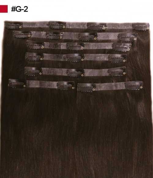 "Ashley 160G 20"" Invisible Clip-in Remy Human Hair Extension"