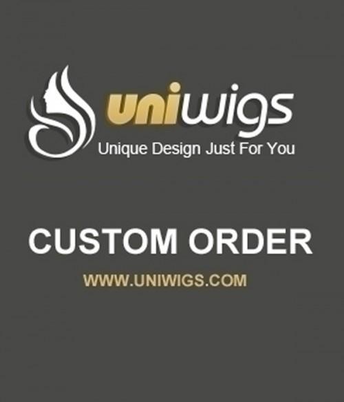 UniWigs Custom Order-AA818