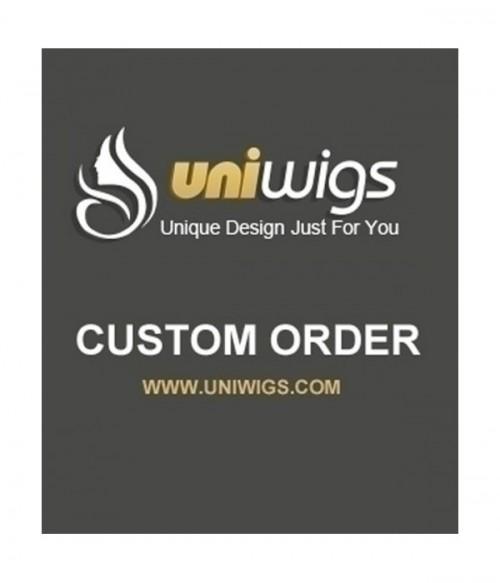 UniWigs Custom Order-AA820
