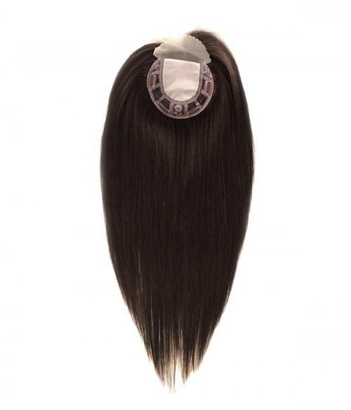 "5.5""×5.5""  Silk Top Virgin Remy Human Hair Topper"