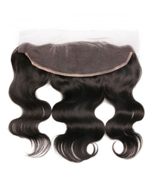 "13""x4"" Body Wave Brazilian Remy Human Hair Lace Frontal"